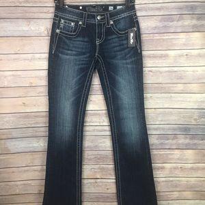 Miss Me Embellished Rhinestone Bootcut Jeans